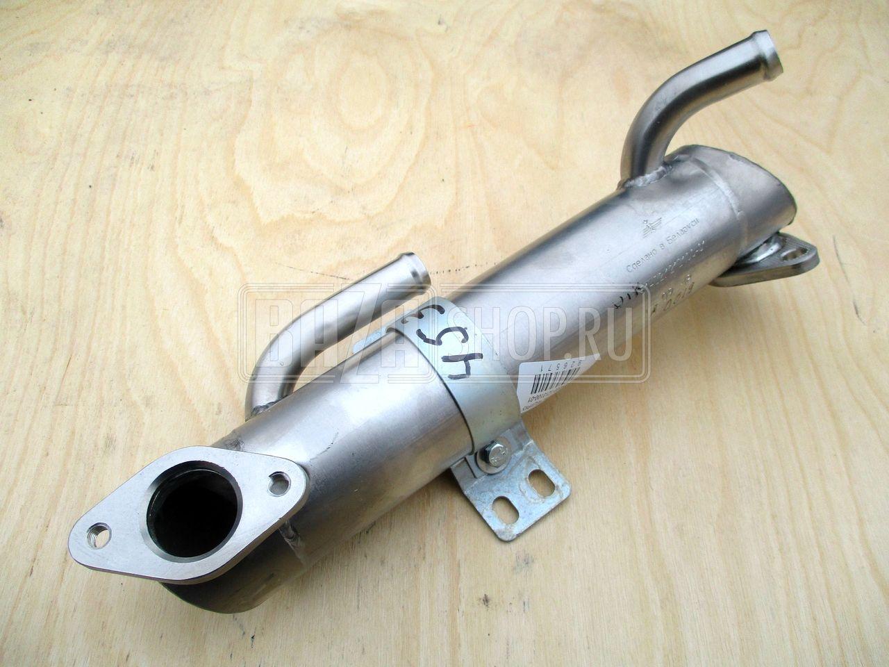 Теплообменник-охладитель рециркулируемых газов уаз теплообменник контур фреон