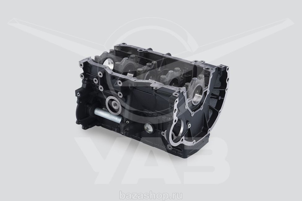 Cylinder block with crankshaft bearings covers (for  ZMZ-40525, 4092, 4052) / 405.1002010-60
