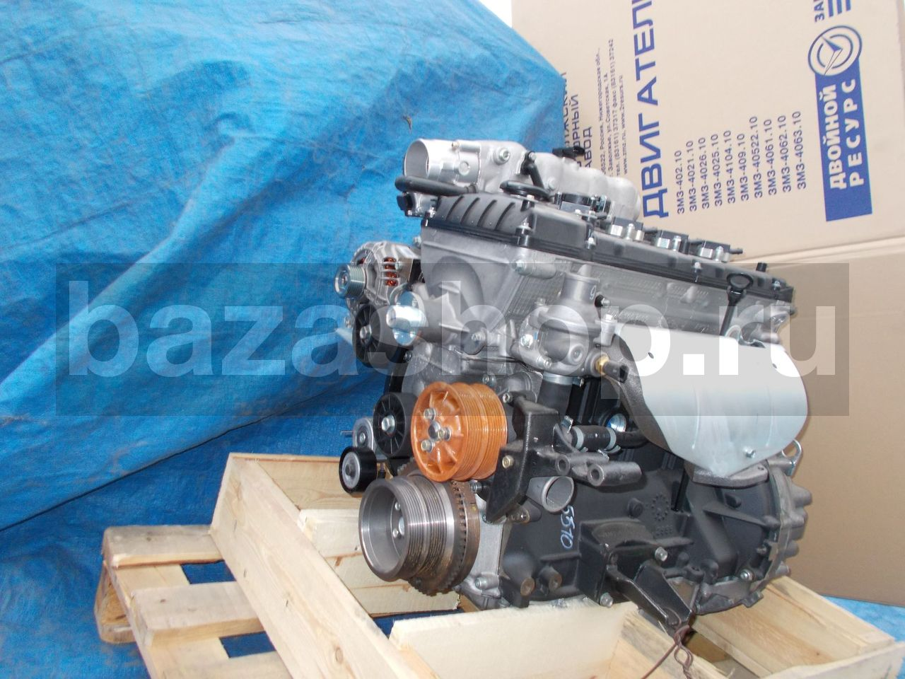 ENGINE, ASS / 40905.1000400-510 (-93) (УАЗ 2360 комплектация 23602-143-02)